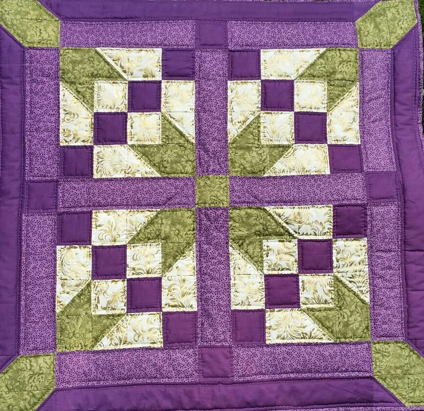 mijn eerste quilt